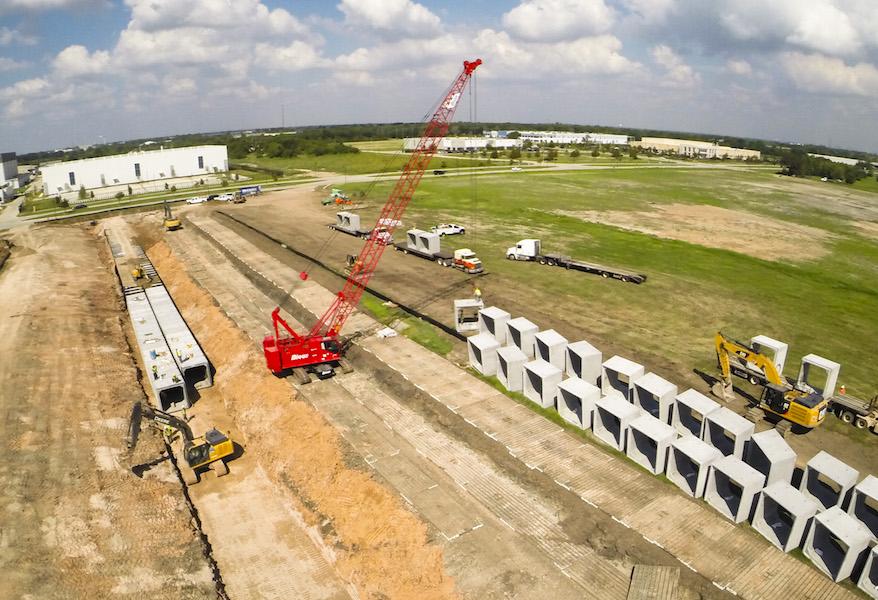 aerial industrial