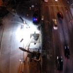drone photo night